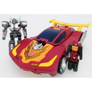 Transformers Takara Legends LG-45 Hot Rodimus Vehicle 2