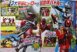 Gavan vs Dekaranger Kyuranger 02