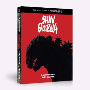 Shin Godzilla Film BD Dvd Combo UV Box