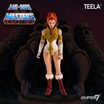 Super 7 Masters of the Universe Classics Club Grayskull Teela