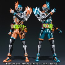 Premium Bandai S.H.Figuarts Kamen Rider Ex-Aid Double Action Gamer Level XX LR Set 3