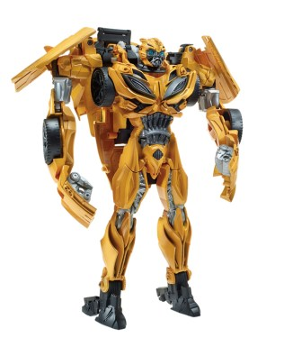 Transformers The Last Knight Flip-N-Change Bumblebee Robot