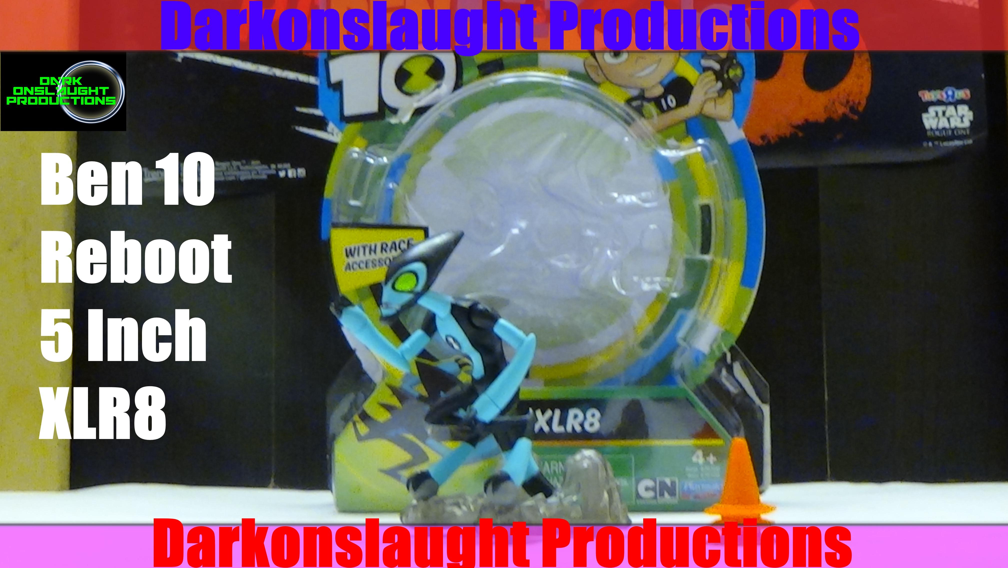 Review Ben 10 Reboot 5 Inch XLR8