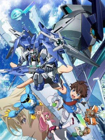 Gundam Build Divers Key Visual From Gundam Build Fighters to Gundam Build Divers!