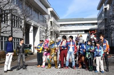 Kyuranger Space Squad Uchu Sentai Kyuranger vs. Space Squad V Cinema Announced