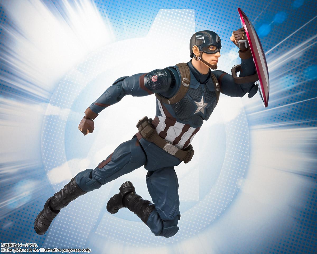 Wonderbaarlijk S.H.Figuarts Avengers Endgame Captain America 5 – Hero Club MO-96