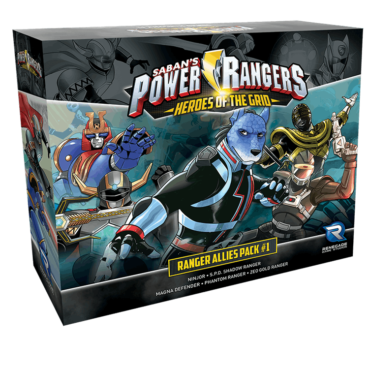 Power Rangers Heroes Of The Grid Shattered Grid Expansion New and Sealed
