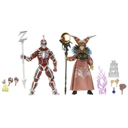Mighty Morphin Power Rangers Lord Zedd and Rita Repulsa Lightning Collection 2 Pack
