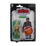 Star Wars Retro Collection Bespin Luke Card