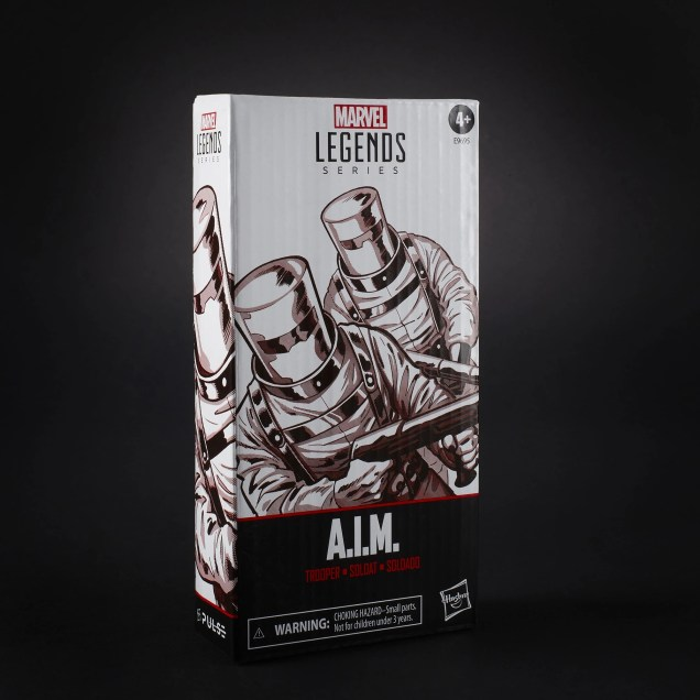 Marvel Legends Aim Trooper Box Alt