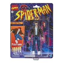 Marvel Legends Retro Peter Parker Card