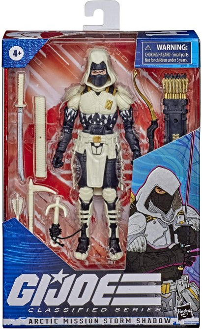 G.I. Joe Classified Series Artic Storm Shadow