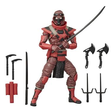 G.I. Joe Classified Series Red Ninja 8