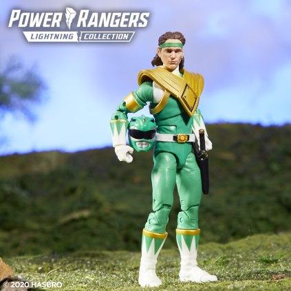 Power Rangers Lightning Collection MMPR Green 3