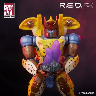 Transformers Red Series Beast Wars Cheetor 4