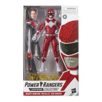 Hasbro Pulse Power Rangers Lightning Collection Metallic Red Ranger 3