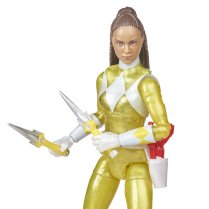 Hasbro Pulse Power Rangers Lightning Collection Metallic Yellow Ranger 2