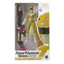 Hasbro Pulse Power Rangers Lightning Collection Metallic Yellow Ranger 3