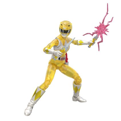 Hasbro Pulse Power Rangers Lightning Collection Metallic Yellow Ranger