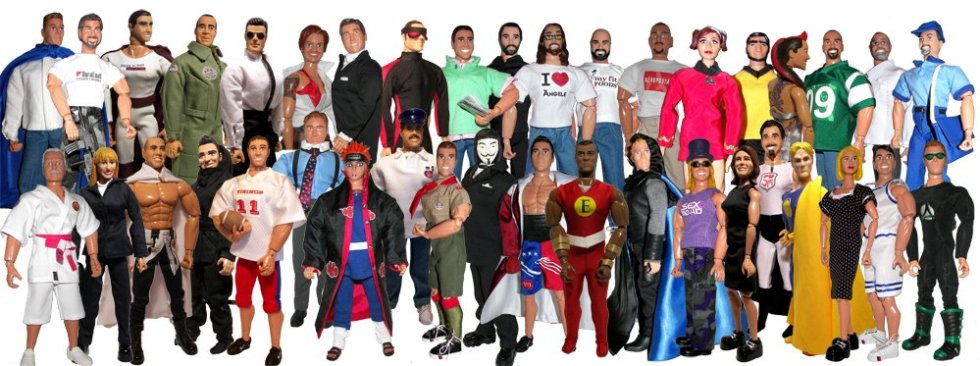 Extreme Custom Action Figures & Personalized Action Figures
