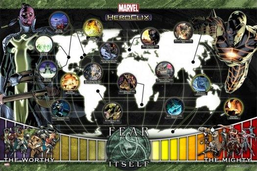 Marvel Heroclix Fear Itself