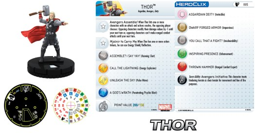 Marvel HeroClix: Age of Ultron Thor