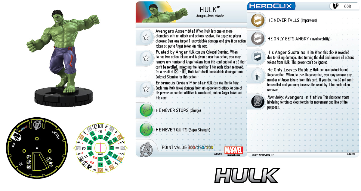Marvel HeroClix: Age of Ultron Hulk