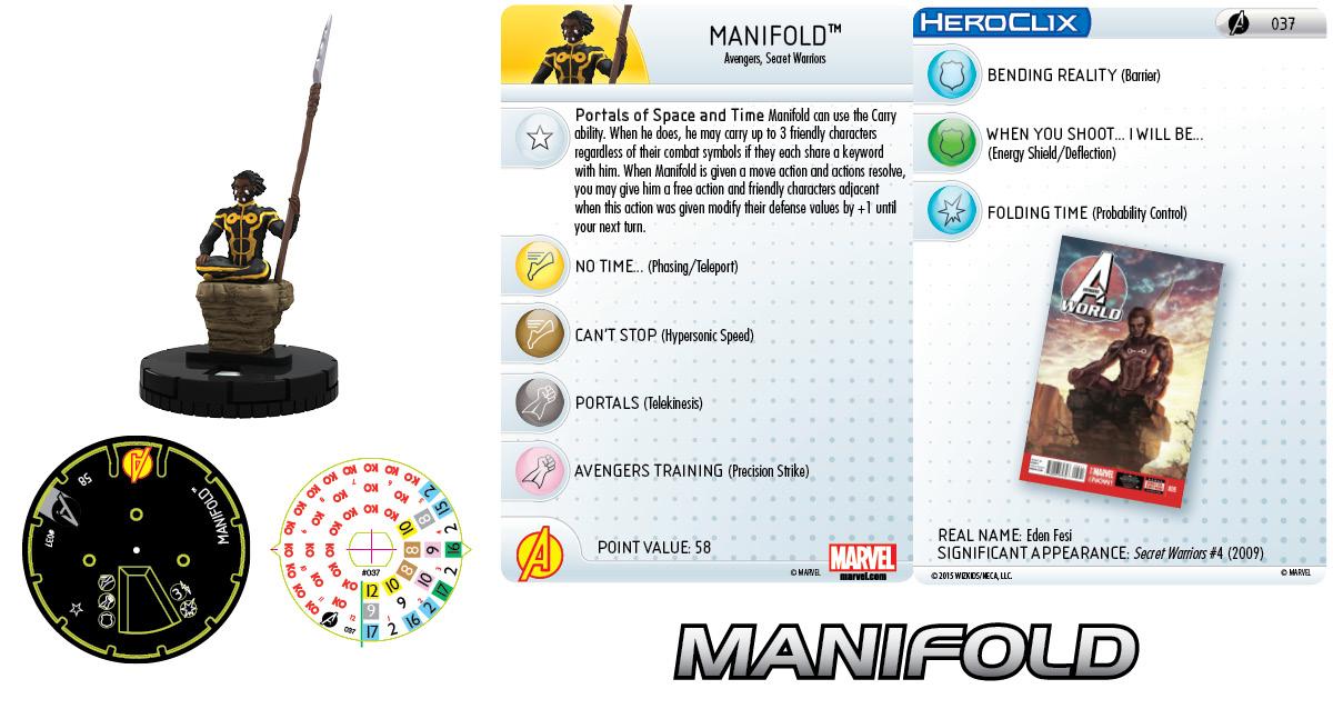 Marvel HeroClix: Avengers Assemble: Manifold