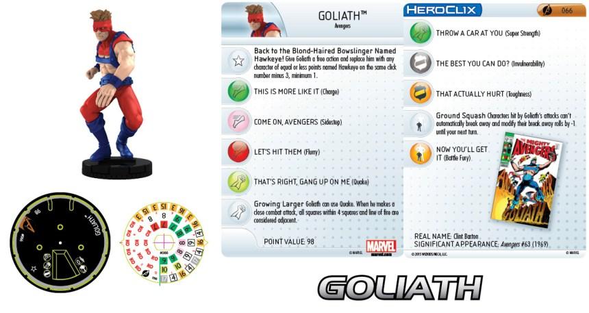 Marvel HeroClix: Avengers Assemble- Goliath