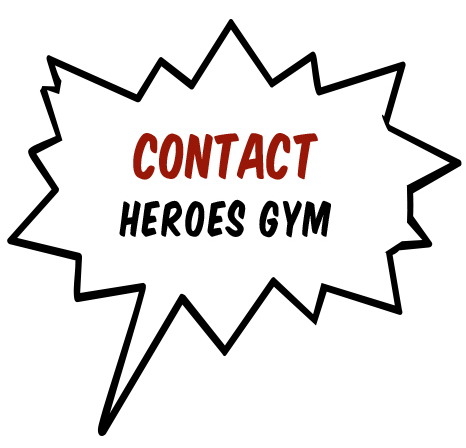 contact heroes gym