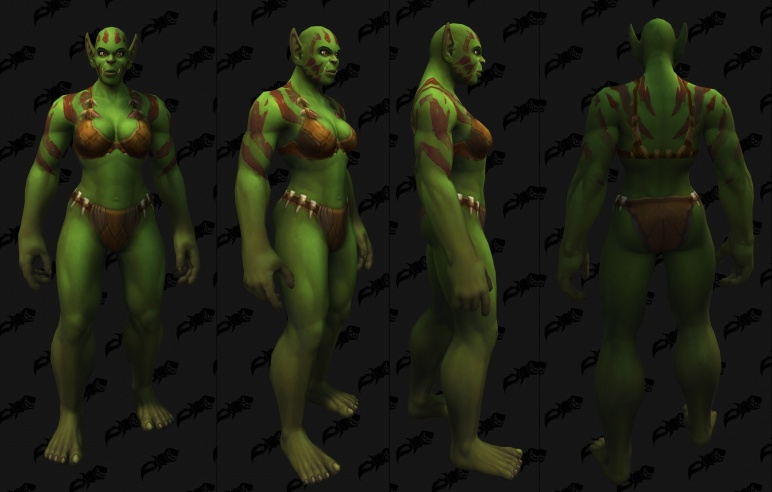 Body Tattoos - Female Orc 10