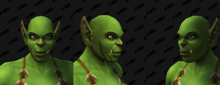 Face Tattoos - Female Orc 06