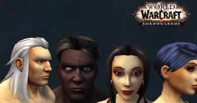Shadowlands Alpha – Neue Customization für Menschen