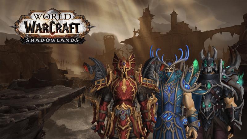 Shadowlands Alpha - Rüstungen der Venthyr, Nachtfae und Necrolords