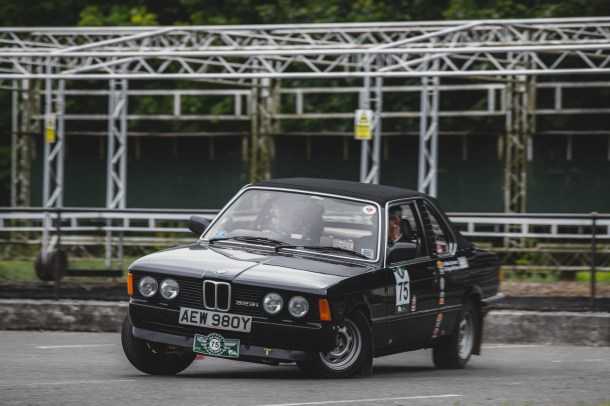 "HERO-ERA Challenge 2, Yorkshire Wolds 2021. ""75 - Angus McQueen - Mike Cochrane, BMW 323i"""