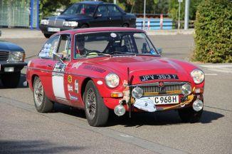 Car 37 - Rolf Pellini - MGC GT 1968