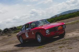 HERO-ERA Summer Trial 2021. Patrick Walker + Daisy Walker, Alfa Romeo GT Junior