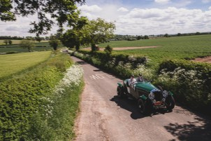 HERO-ERA Summer Trial 2021. 2, Stuart and Emily Anderson, Bentley Derby 4.25