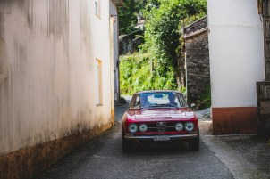 """HERO-ERA Classic Marathon 2021. """"14 Marc Kingsley-Curry + Rob Simmonds , Alfa Romeo 1750 GT Veloce Series 1"""" The event that started the classic rallying scene back in 1988, travels through Northern Spain and Portugal in its latest incarnation."""