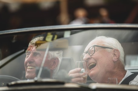 """HERO-ERA Classic Marathon 2021. """"19 Cliff England + Peter Rushforth , MG B"""" The event that started the classic rallying scene back in 1988, travels through Northern Spain and Portugal in its latest incarnation."""