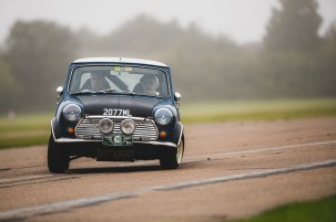 "Hero Challenge 3 2021, Bicester to Banbury. ""19 Patrick Lynch + Hubert Lynch , Morris Mini Cooper S, 1969"""