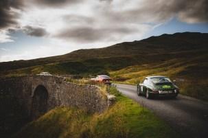 "Scottish Malts 2021, ""31 Alessandra Burke + Patrick Burke , Porsche 911T SWB (A&D)"" , Day 1 Dalmahoy Hotel & Country Club, Edinburgh, to Atholl Palace Hotel, Pitlochry."