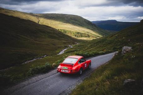 "Scottish Malts 2021, ""41 Simon Garnham + Greg Cranmer , Porsche 911"", Day 1 Dalmahoy Hotel & Country Club, Edinburgh, to Atholl Palace Hotel, Pitlochry."