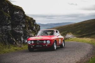 "Scottish Malts 2021, ""20 Judith Keiper + Katharina-Rabea M?ller , Alfa Romeo GTV 1750 (A&D)"", Day 1 Dalmahoy Hotel & Country Club, Edinburgh, to Atholl Palace Hotel, Pitlochry."