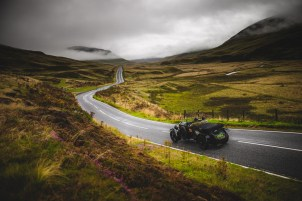 """Scottish Malts 2021, """"1 Andy Buchan + Roy Buchan , Bentley Le Mans"""", day 2, Atholl Palace Hotel, Pitlochry to Kingsmills Hotel, Inverness."""