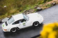"Scottish Malts 2021,""55 Peter Myles + Louise Myles , Porsche 911"" , day 5, Crieff Hydro Hotel, Crieff to Dalmahoy Hotel and Country Club, Edinburgh."