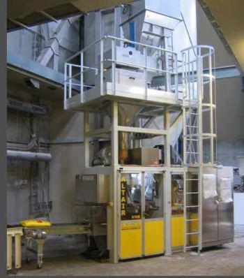 Envasadora Italmeccanica de Big-Bags en LYSUR