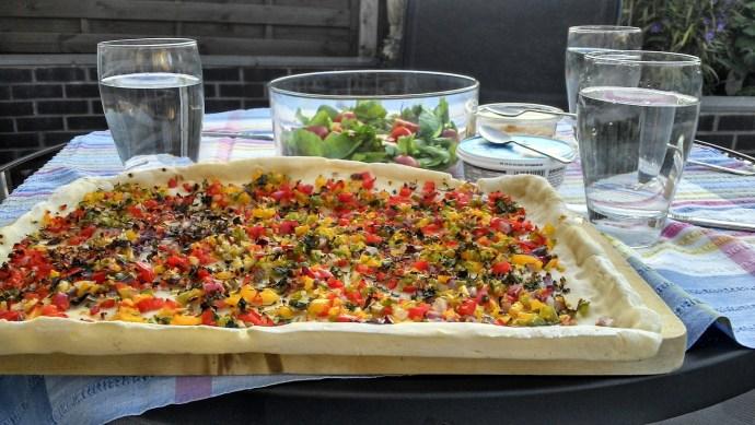 Turkish pizza, luke jones, health room. herohealthroom.com
