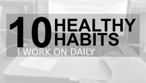 How to be healthy everyday, health rituals, health room
