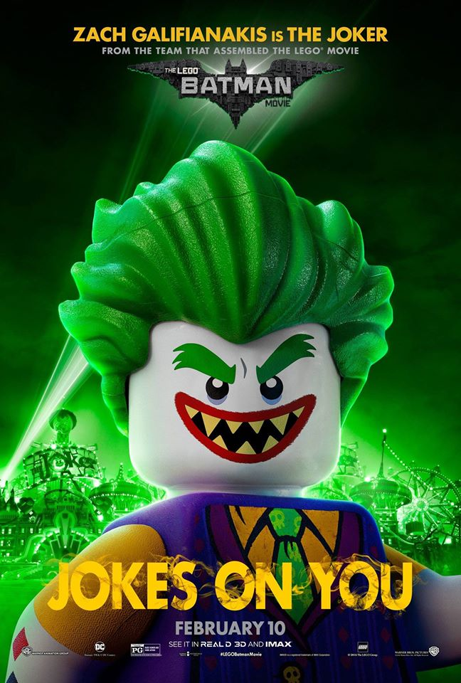 6 New Character Posters For 'The LEGO Batman Movie' Released